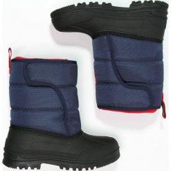 Polo Ralph Lauren HAMILTEN II  Śniegowce dunkelblau. Czerwone buty zimowe chłopięce marki Polo Ralph Lauren. W wyprzedaży za 284,25 zł.