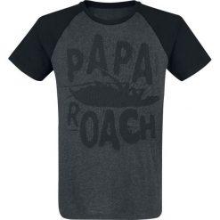 Papa Roach Logo T-Shirt ciemnoszary/czarny. Czarne t-shirty męskie Papa Roach, xxl. Za 99,90 zł.
