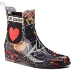 Kalosze LOVE MOSCHINO - JA21013G16IO0000 St Graff Ne. Niebieskie buty zimowe damskie marki Love Moschino, z materiału. Za 559,00 zł.