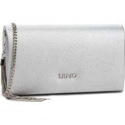 Torebka LIU JO - Xs Crossbody Bonol N68138 E0001 Silver 00532. Szare torebki klasyczne damskie marki Liu Jo, ze skóry ekologicznej. Za 339,00 zł.