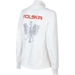 Bluzy rozpinane damskie: Bluza reprezentacyjna damska PZLA BLD990RN - biały
