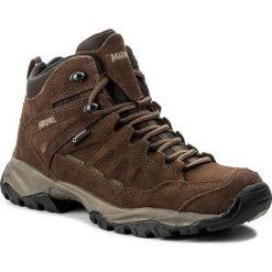 Trekkingi MEINDL - Nebraska Lady Mid GTX GORE-TEX 3423 Dunkelbraun. Brązowe buty trekkingowe damskie MEINDL. W wyprzedaży za 609,00 zł.
