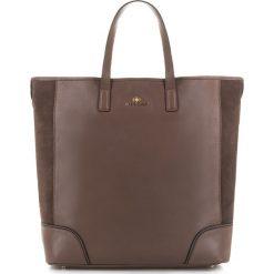 Torebka damska 83-4E-448-5. Szare torebki klasyczne damskie marki Wittchen, w paski, z zamszu, duże, zamszowe. Za 499,00 zł.