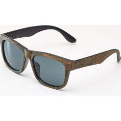 Okulary przeciwsłoneczne męskie: Okulary przeciwsłoneczne – Brązowy
