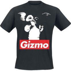 Gremlins Gizmo T-Shirt czarny. Czarne t-shirty męskie z nadrukiem Gremlins, l, z okrągłym kołnierzem. Za 74,90 zł.