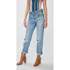 Levi's - Jeansy 501. Brązowe jeansy damskie z wysokim stanem Levi's®. Za 449,90 zł.