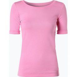 Marc Cain Sports - T-shirt damski, różowy. Czerwone t-shirty damskie Marc Cain Sports, z dżerseju, z klasycznym kołnierzykiem. Za 299,95 zł.