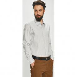 Joop! - Koszula. Szare koszule męskie na spinki marki JOOP!, z bawełny, z klasycznym kołnierzykiem, z długim rękawem. W wyprzedaży za 279,90 zł.