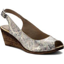 Rzymianki damskie: Sandały LANQIER – 40C412 Różowy