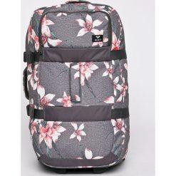 Roxy - Walizka. Szare walizki Roxy, z materiału. W wyprzedaży za 479,90 zł.