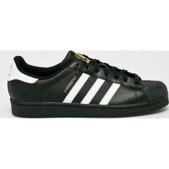 Adidas Originals - Buty Superstar Foundation. Brązowe halówki męskie marki adidas Originals, z bawełny. Za 349,90 zł.