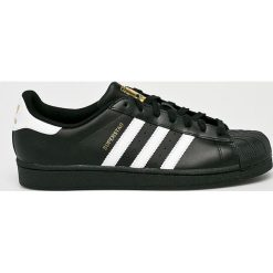 Adidas Originals - Buty Superstar Foundation. Czarne buty skate męskie adidas Originals, z gumy. Za 349,90 zł.