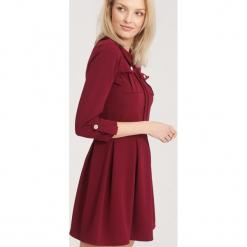 Bordowa Sukienka Beauty Layla. Czerwone sukienki mini other, uniwersalny. Za 89,99 zł.