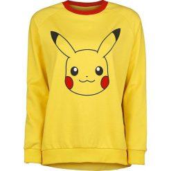 Bluzy rozpinane damskie: Pokemon Pikachu Bluza damska żółty