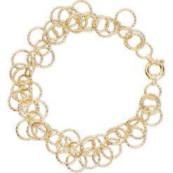Piękna Bransoletka Złota - złoto żółte 585. Żółte bransoletki damskie na nogę W.KRUK, złote. Za 1590,00 zł.