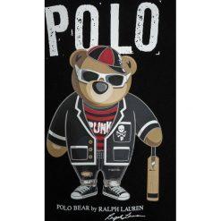 T-shirty chłopięce z nadrukiem: Polo Ralph Lauren GRAPHIC  Tshirt z nadrukiem black