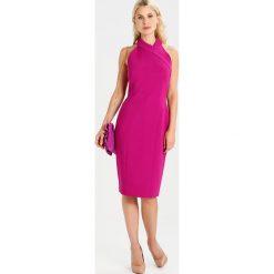 Sukienki hiszpanki: Karen Millen EXTREME CUT OUT Sukienka z dżerseju pink