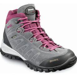 Buty trekkingowe damskie: MEINDL Buty damskie Piemont Lady Mid GTX szaro-fioletowe r. 38 (5268)