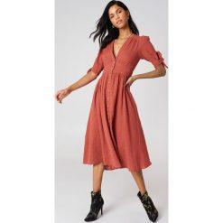Sukienki: Free People Sukienka midi Love Of My Life - Orange
