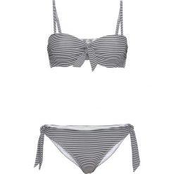 Bikini: Bikini na fiszbinach bonprix czarno-biały