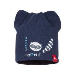 Broel Czapka Dziecięca Bero 41 Niebieski. Niebieskie czapeczki niemowlęce marki Broel, na zimę. Za 49,00 zł.