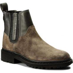 Sztyblety NAPAPIJRI - Reese 15743179  Iron Grey N82. Szare buty zimowe damskie marki Napapijri, z materiału, na obcasie. W wyprzedaży za 349,00 zł.