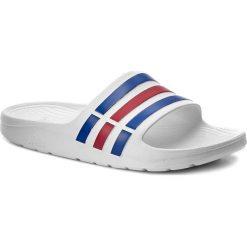 Buty męskie: Klapki adidas - Duramo Slide U43664 Wht/Trublu/Red