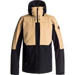 Quiksilver TR AMBITION JK M SNJT Kurtka snowboardowa black. Czarne kurtki trekkingowe męskie Quiksilver, m, z materiału. W wyprzedaży za 775,20 zł.