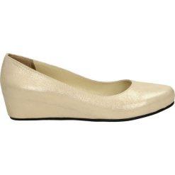 Buty ślubne damskie: Czółenka - 7082307 GOLD