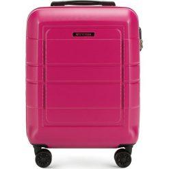 Walizka kabinowa 56-3H-541-60. Czerwone walizki marki Wittchen, z gumy, małe. Za 159,00 zł.
