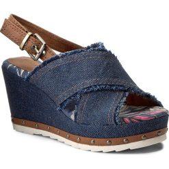 Rzymianki damskie: Sandały MARCO TOZZI – 2-28390-38 Jeans Comb 811