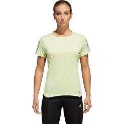 T-shirty damskie: Adidas Koszulka damska Response Tee żółta r. M (CF2139)