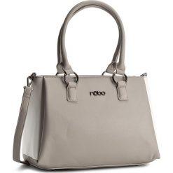 Torebka NOBO - NBAG-C4010-C019 Szary. Szare torebki klasyczne damskie Nobo, ze skóry ekologicznej. W wyprzedaży za 159,00 zł.