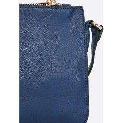 Answear - Torebka. Szare torebki klasyczne damskie ANSWEAR, w paski, z materiału, średnie. W wyprzedaży za 69,90 zł.