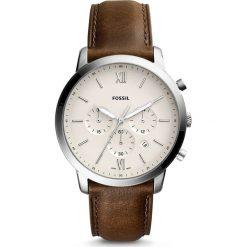 Zegarek FOSSIL - Neutra Chrono FS5380  Brown/Silver. Różowe zegarki męskie marki Fossil, szklane. Za 599,00 zł.