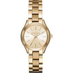 Zegarek MICHAEL KORS - Mini Slim Runway MK3512 Gold/Gold. Żółte zegarki damskie Michael Kors. Za 950,00 zł.