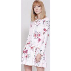 Sukienki: Różowo-Bordowa Sukienka Light Flash
