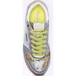 Pepe Jeans - Buty. Szare buty sportowe damskie marki Pepe Jeans, z jeansu. W wyprzedaży za 199,90 zł.
