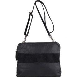 """Torebki i plecaki damskie: Skórzana torebka """"Edenbridge"""" w kolorze czarnym – 30 x 23 x 5 cm"""