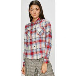 Pepe Jeans - Koszula Rubi. Szare koszule jeansowe damskie Pepe Jeans, l, w kratkę, casualowe, z klasycznym kołnierzykiem, z długim rękawem. Za 259,90 zł.