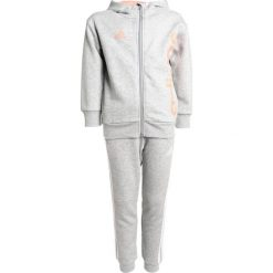 Bluzy chłopięce: adidas Performance Bluza rozpinana mid grey heather/chacor