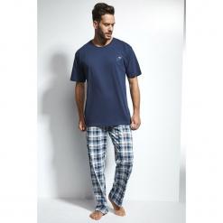 Męska piżama CORNETTE Great Outdoors Blue. Czarne piżamy męskie marki Astratex, z bawełny. Za 107,66 zł.