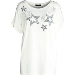 T-shirty damskie: Biały T-shirt Stellar