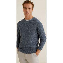 Mango Man - Sweter Toxic. Niebieskie swetry klasyczne męskie marki Reserved, l, z okrągłym kołnierzem. Za 199,90 zł.