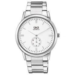Zegarek Q&Q Męski QA60-201 Klasyczny. Szare zegarki męskie Q&Q. Za 132,50 zł.