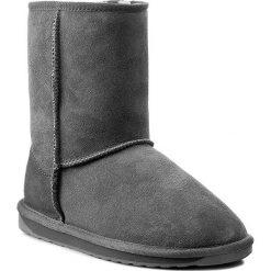Buty EMU AUSTRALIA - Stinger Lo W10002 Charcoal 2015. Szare buty zimowe damskie EMU Australia, z gumy. Za 729,00 zł.