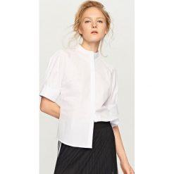 Koszula z krótkimi rękawami - Biały. Białe koszule damskie marki Reserved, z krótkim rękawem. W wyprzedaży za 39,99 zł.