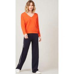 Sweter w kolorze pomarańczowym. Brązowe swetry klasyczne damskie Rodier. W wyprzedaży za 171,95 zł.