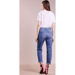 Boyfriendy damskie: 7 for all mankind JOSEFINA Jeansy Straight Leg escape blue