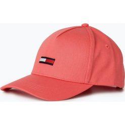 Tommy Jeans - Damska czapka z daszkiem, czerwony. Czerwone czapki z daszkiem damskie Tommy Jeans, z bawełny. Za 129,95 zł.